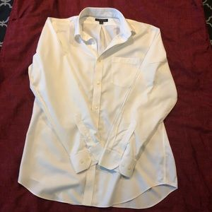 Banana Republic White Dress Shirt L